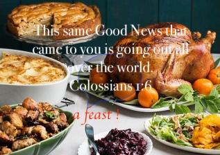 Paul's thanksgiving