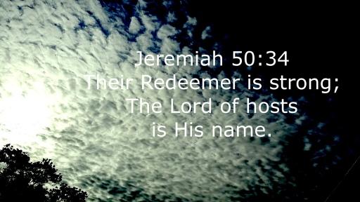 Jeremiah 50:34