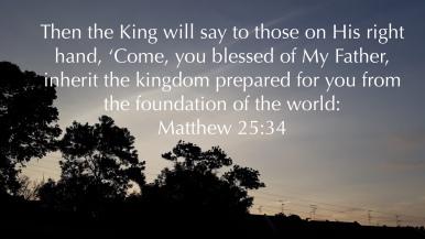 matthew 25:34
