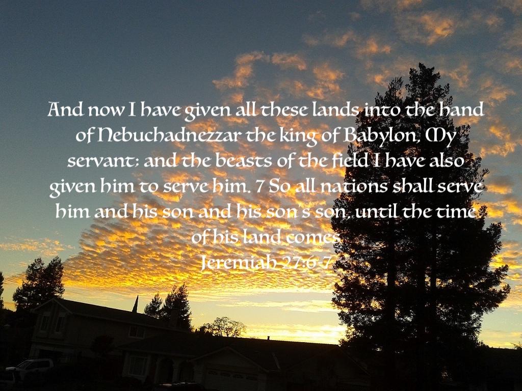 Jeremiah 27:67