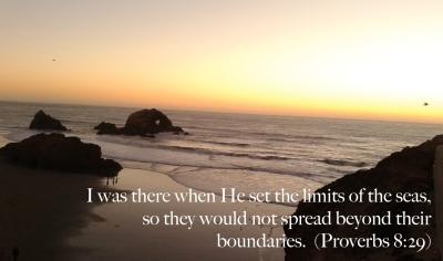 Proverbs 8:29