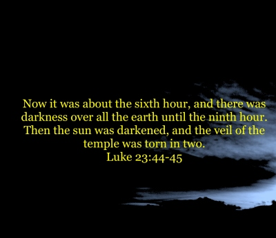 Luke 23:4445