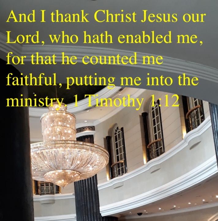 1 timothy 1:12