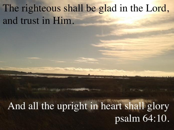 psalm 64:10