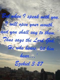 Ezekiel 3-27