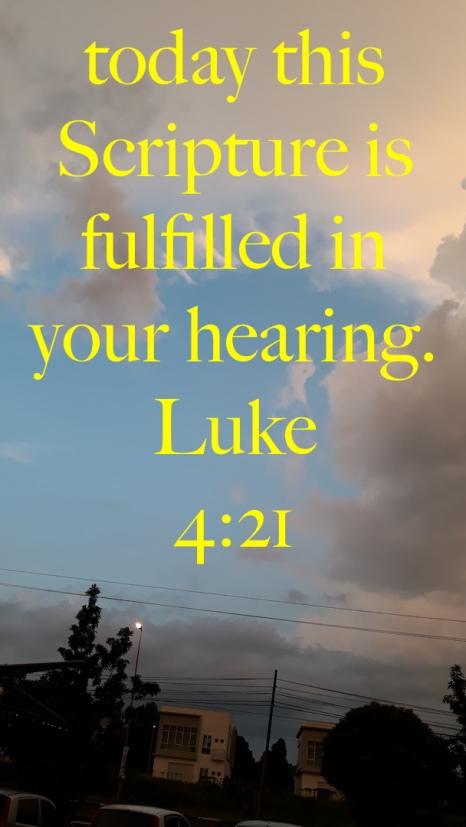 Luke 4-21