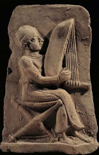 Babylonian harp