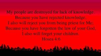 Hosea 4-6